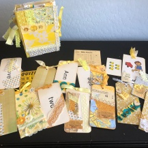 Yellow Journal and tags